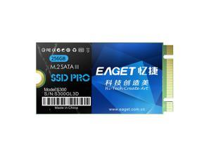 EAGET S300 SSD M.2(NGFF) Solid State Drive High Speed Transmission Compact Slient Shockproof SSD for PC Laptop 256GB