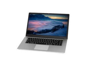 15.6 inch Portable Laptop Intel Celeron J3455/J4115 Processor 8GB DDR4 RAM 256GB SSD 1920*1080 IPS Screen for Office Game US Plug