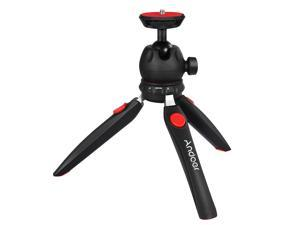 Andoer H20 Mini Tabletop Tripod Portable Foldable Phone Camera Tripod Stand with Removable Ball Head with 1/4 Inch Screw