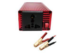 150W Car Power Portable Inverter DC 12V to AC 110V/220V 3.1A Dual USB Output Clip Type Universal Plug