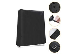Ping Pong Table Cover Outdoor Foldable Table Tennis Table Protective Cover Weatherproof Indoor Outdoor Cover for Folding Pingpong Table