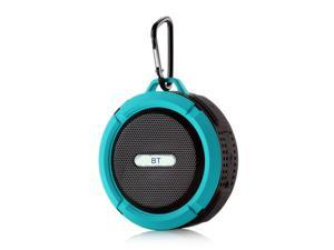 C6 Mini Wireless BT 5.0 Speaker IP65 Outdoor Waterproof Portable Sound Box Hands-free with Microphone USB Rechargeable
