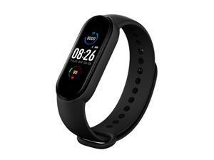 M5 Intelligence Wristband Heart Rate Blood-Pressure Detector Wristbands Pedometer Sports Watch Waterproof Fitness Band