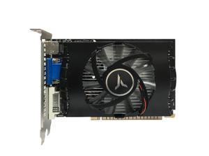 Yeston GT730-4G D3 TA Graphics Card with 902/1333MHz Frequency 4G/DDR3/64bit Memory HD+DVI+VGA Output Ports for Office Gaming