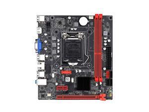 Jingsha B75M Motherboard Support i3-2100 i3-2120 i3-3240 i5-2400 i5-3450 i5-3470 i7-2600 i7-3770 2th/3th Generation LGA1155 CPU