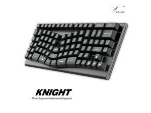 xbow x-bow Knight Mechanical keyboard pcb ergonomic optical switch rgb leds type c port hot swappable switch socket