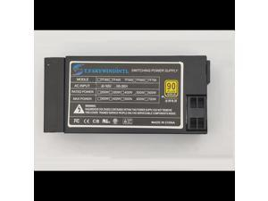 Flex silent small 1U power supply rated 500W itx full module high power supply 110V 220V psu For All in One Computer and NAS