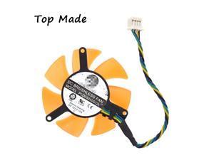 1pc for MSI Gt5 video card fan for Zotac 9500GT 210 7600 7300 VGA COOLER 46mm Processor Cooler Heatsink Fan For Computer