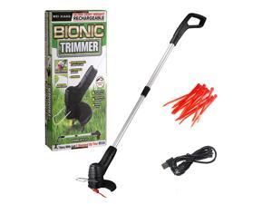 Cordless Electric Lawn Mower Handheld Portable Lightweight Mowing Machine Trimmer USB Rechargeable Electric Mower Weed Eater