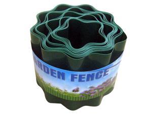 Garden Fence Decorative Plastic Fence Recyclable Plastic Barrier Environmental Protection Protective Guard Edging Decor for Outdoor Garden Courtyard Lawn Patio