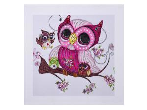 Diamond Painting Owl DIY 5D Diamond Painting Special Shape Diamond Paintings Kits Arts Craft for Room Wall Decoration