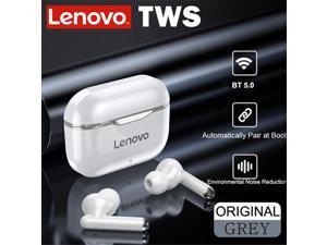 Lenovo LP1 TWS Earbuds Bluetooth 5.0 True Wireless Headphones Touch Control Sport Headset IPX4 Sweatproof In-ear Earphones with Mic 300mAh Charging Case