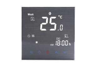 BTH-2000L-GA Water Floor Heating Thermostat Digital Temperature Controller Large LCD Display Touch Button Control 5A AC 95-240V