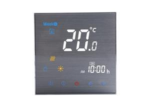 BTH-3000L-GC Water / Gas Boiler Heating Thermostat Digital Temperature Controller Large LCD Display Touch Button Control 5A AC 95-240V