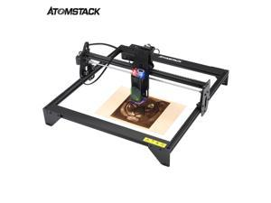 ATOMSTACK A5 Laser Engraver CNC 20W, Laser Engraving Cutting Machine 5000mw, Fixed-Focus Eye Protection DIY Laser Marking for Metal, Wood, Leather, Vinyl, 400x410mm