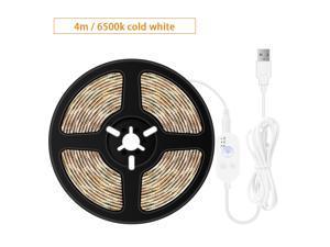 USB Dimmable LEDs Strips Light PIR Motion Sensor 4m 240LEDs Rope Light for TV Computer Desktop Background Home Kitchen Decorative Lighting