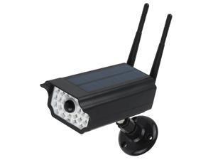 Motion Sensor Solar Light Fake Bullet Security Camera Shape Solar Powered Outdoor Garden Lights RIR Motion Sensor Lamp IP65 Waterproof