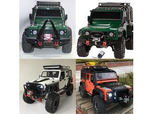 1/10 RC Rock Crawler Steel Wired Automatic Crawler Winch Control System and Wireless Remote Receiver for Traxxas HSI TAMIYA CC01 Axial SCX10 RC4WD D90 RC Crawler