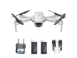 S161 Mini Pro Drone Drone with Camera 4K Altitude Hold Follow Me Gesture Photos Video Track Flight RC Quadcopter Storage Bag 2 Batteries
