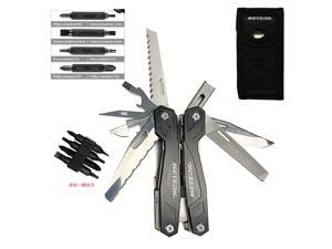 Multifunctional Tool Pliers Combined Military knife With Replaceable Screw Head