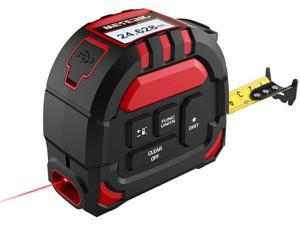 Deals on Meterk Laser Tape Measure 2 in 1