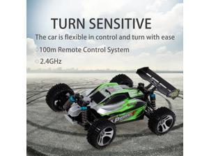 WLtoys A959-A RC Car 2.4G 1/18 4WD 35KM/h Racing Buggy Car High Speed Vehicle Off Road Truck  RTR