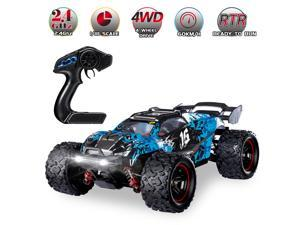 HOSPEED HS18421 RC Car 2.4Ghz 1:18 Off Road RC Trucks 4WD 60KM/H Brushless Racing Climbing Vehicle with Light Gifts for Kids Adults