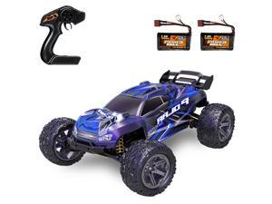 HS10412 RC Car High Speed 1/8 2.4GHz Racing Car 55km/h 4WD Off-Road Car with 2 Battery