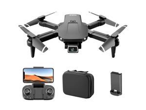 S68 RC Drone with Camera 4K Wifi FPV Dual Camera Drone Mini Folding Quadcopter Toy for Kids with Gravity Sensor Control Headless Mode Gesture Photo Video Function
