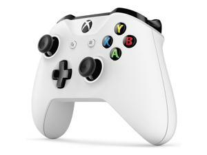Micro USB Wireless Bluetooth Vibration Console Xbox One S Wireless Controller Wireless Game Controller with Headphone Hole Compatible with Xbox One/S/X Window 10/Mobile Phone etc.(White)