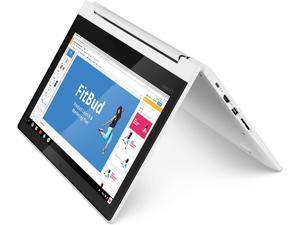Lenovo Chromebook C330 2-in-1 Convertible Laptop, 11.6-Inch, MediaTek MT8173C Processor, 4GB LPDD, 64 GB eMMC, Blizzard White