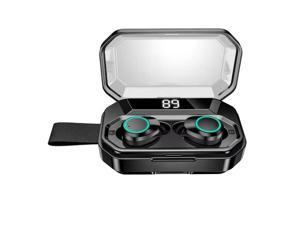 Wireless Earbuds, X6 pro Bluetooth 5.0 Headphones True Wireless Ear Buds IPX8 Waterproof Dual Built-in Mic Earphones with 3000mAh Charging Case for 120H Standby Time