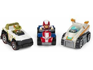 Paw Patrol, True Metal Classic Pack of 3 Collectible Die-Cast Vehicles, 1:55 Scale