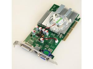 New GeForce FX5500 256 MB AGP 4X 8X Desktop Video Graphics Card Vga Nvidia Chipset