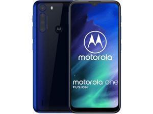 Motorola One Fusion 128GB Factory Unlocked Smartphone - Ocean Blue