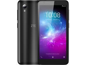 ZTE Blade L8 Factory Unlocked Smartphone - 5-inch Display 32GB Storage - New Sealed - Black