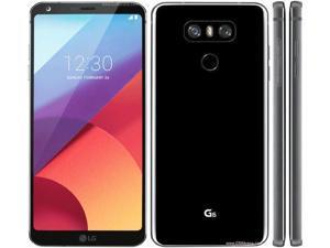 New LG G6 32GB GSM Unlocked Smartphone w/Dual 13MP Camera - Astro Black