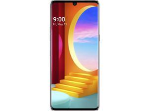 New LG Velvet 5G 128GB GSM Unlocked Smartphone - Aurora Silver