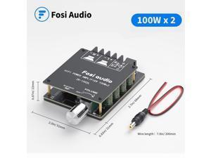 Fosi Audio Bluetooth 5.0 TPA3116D2 Digital Amp Module 100Wx2 Wireless Stereo Power Audio Amplifier Board ZK1002L