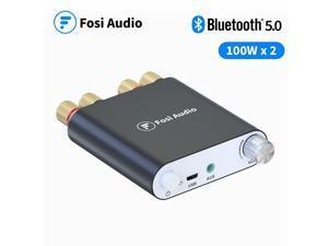 Fosi Audio Bluetooth Power Amplifier 100W x2 Wireless Stereo Receiver Mini 2 CH HiFi Digital Power Amp ZK1002D 24V Power Supply