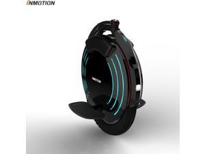 INMOTION Updated V10F electric unicycle single-wheel self-balancing scooter with decorative lights, 16-inch inflatable wheels