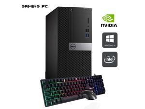 DELL Optiplex 7040 Tower Desktop Computer i5 6500 3.2Ghz 32GB DDR4 RAM 1TB SSD GTX 1650 Win 10 Pro WIFI with Gaming PC Keyboard & Mouse HAJAAN HC510 WiFi HDMI