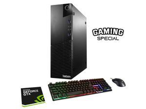 Lenovo ThinkCentre M93 SFF Computer PC i5 4570 3.2Ghz 16GB DDR3 RAM 512GB SSD NVIDIA GeForce GT 1030 2GB Win 10 Pro WIFI with Gaming PC Keyboard & Mouse HAJAAN HC510 HDMI