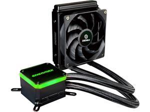 Enermax Liqmax III 120 All-in-One CPU Liquid Cooler Dual Chamber Intel 1200/115X/2066 AMD AM4 Support AIO Cooling 300W+ TDP; 12V 4-PIN RGB Header; ELC-LMT120-HF