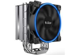 Pccooler GI-R66U CPU Cooler Slient CPU PWM Fan 120mm E-Sports,6 Heat Pipes for Intel Core i7 / i5 / i3,Direct Contact Heat Pipes of AMD Series
