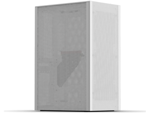 SSUPD Meshlicious Mini-ITX Small Form Factor (SFF) Case - Full Mesh Side Panel with PCIe 4.0 Riser Cable - White Color, Tool-Free and Easy Accessibility