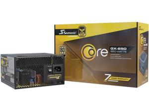 Seasonic CORE GX-650, 650W 80+ Gold Full-Modular, Fan Control in Silent and Cooling Mode, Perfect Power Supply for Gaming and Various Application, SSR-650LX