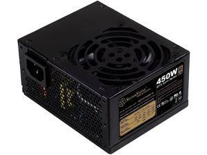 SilverStone Technology 450W SFX Form Factor 80 Plus Gold Full Modular Power Supply with +12V Single Rail, Active PFC (ST45SF-G)