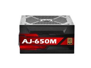 PSU For ApexGaming Brand ATX Full Modular 80plus Gold Chicken Eating Game Power Supply 650W Power Supply AJ-650M