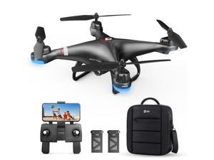 Holy Stone HS110G GPS Drone with 1080P HD Camera FPV Live Video, Quadcopter with Carrying Bag, 2 Batteries